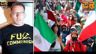 MEXICANOS CON LOZANO, LE GRITAN ¡FUERA LÓPEZ! EN EL ZÓCALO   REPORTAJE ESPECIAL DE CR NOTICIAS
