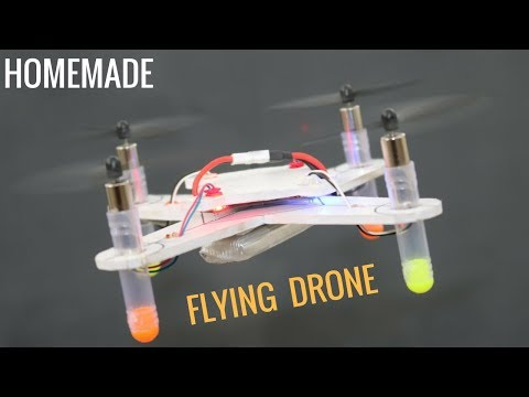 How to Make Helicopter at Home   Quadcopter