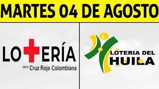Resultados Lotería de la CRUZ ROJA y HUILA Martes 4 de Agosto 2020 | PREMIO MAYOR ????????????