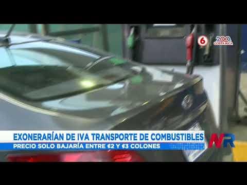 El PLN y el PUSC impulsan plan para quitar el IVA del transporte de combustibles