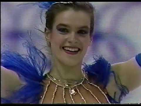 Katarina Witt (GDR) - 1988 Calgary Winter Olympic Games, Ladies' Short Program