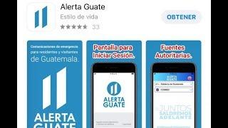 Presidente Giammattei anuncia el lanzamiento de una App para atender emergencias