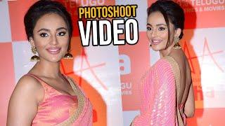 Seerat Kapoor Exclusive PhotoShoot Video @ Aha Event - TFPC