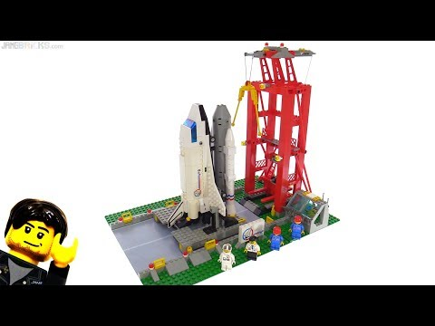 connectYoutube - LEGO System Shuttle Launch Pad from 1995! set 6339