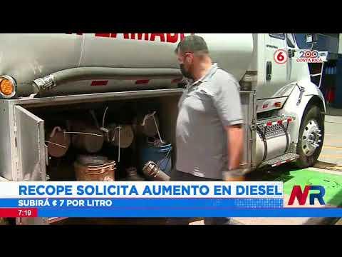 Recope solicita a la Aresep una rebaja en precios de combustibles