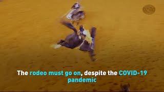 Despite pandemic, popular rodeo championship goes on