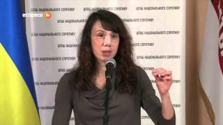 Чорновол показала журналістам мапу, через яку її майже вбили