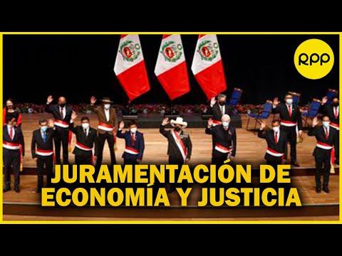 EN VIVO | GABINETE BELLIDO: Juramentación de ministros de Economía y Finanzas y Justicia