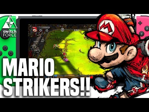 Why We NEED Mario Strikers On Nintendo Switch!