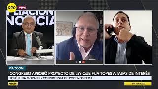 Podemos Perú presentará una moción de interpelación contra el ministro del Interior