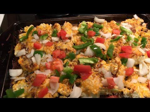 Episode 18- cauliflower keto nachos!