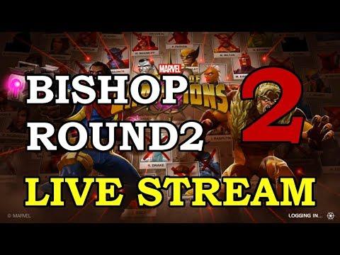 connectYoutube - Bishop Round 2 - Part 2 | Marvel Contest of Champions Live Stream
