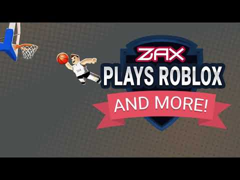 Zax plays Roblox ( Logo and intro )