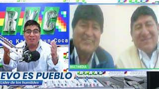 En RKC Entrevista: Evo Morales Ayma en Potosí junto a Jhonny Mamani Candidato a Gobernador | Bolivia