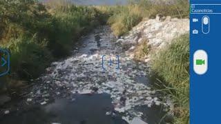 El Cazanoticias: en Villavicencio, denuncian que la gente bota basura en caño