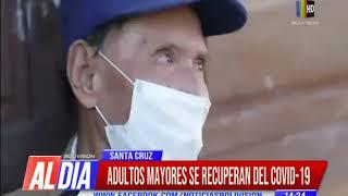 Santa Cruz: Personas de la tercera edad se recuperan del COVID-19