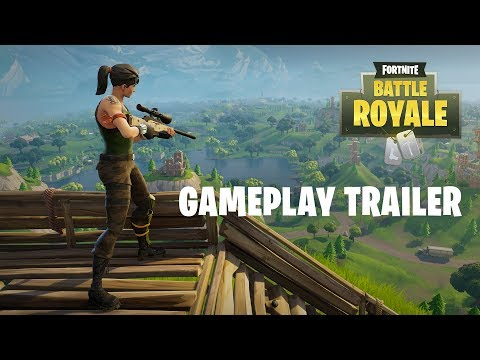 "Film pokazujący tryb battle royale w ""Fortnite"""