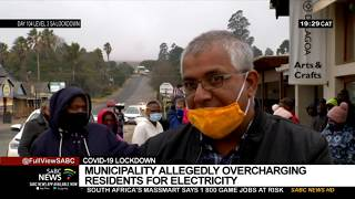 Thaba Chweu Municipality allegedly overcharging residents for electricity