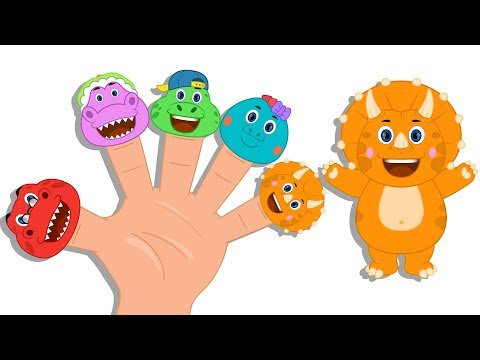 Dinosaurs Finger Family | Nursery Rhymes Song | Video For Kids