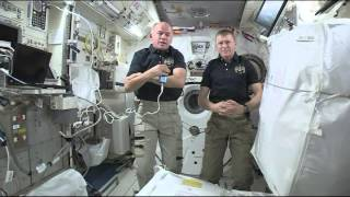 Crewmembers Onboard the ISS Talk to Texas Students