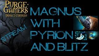 Dota 2 Purge plays Magnus