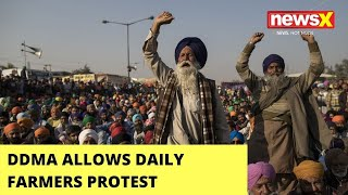 Farmers To Hold Protests | DDMA Grants Permission | NewsX - NEWSXLIVE