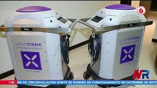 Llegan a Costa Rica robot certificado para eliminar el virus