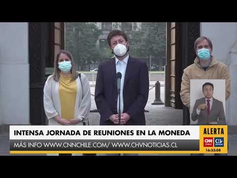 Chile Vamos se reúne con Presidente Piñera en La Moneda