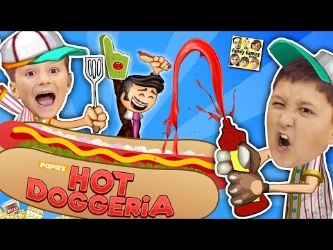 connectYoutube - PAPA'S HOT DOGGERIA 🌭 FGTEEV LAST VIDEO of 2017! Mike & Chase Hilarious Gameplay w/ Doofy Customers