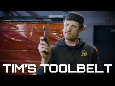 Tim's Robot-Makin' Toolbelt (Behind The Scenes)