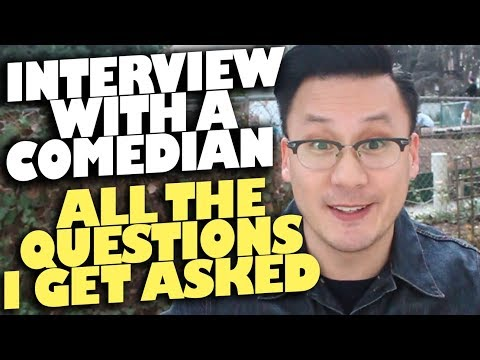 connectYoutube - Interview with a Comedian! Every answer to every question I usually get (more in description box)