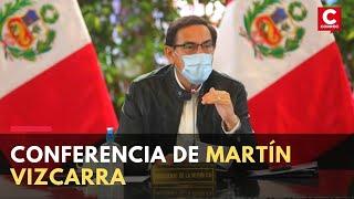 Coronavirus Perú: Presidente Martín Vizcarra realiza conferencia de prensa