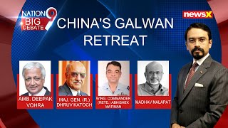 China's Galwan Retreat | Full  Discussion | NewsX - NEWSXLIVE