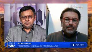 Rodrigo Navia asume vicerrectoría de Investigación y Postgrado UFRO| CUANDO LLEGA LA TARDE