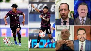 J.J. MACÍAS vs. ALEXIS VEGA ¿Quién debe ser delantero titular en el TRI Olímpico   Futbol Picante