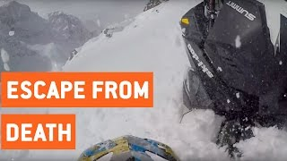 Snowmobiler Survives Big Avalanche | Snowed In