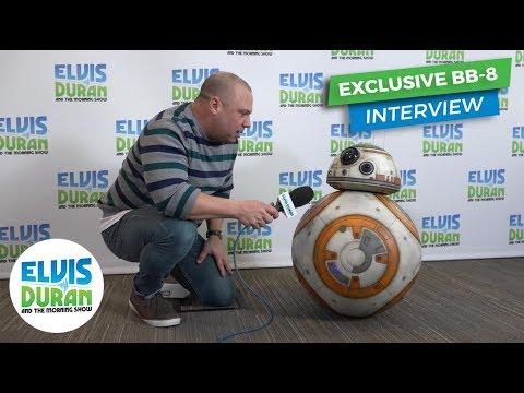 connectYoutube - Star Wars: The Last Jedi - Exclusive BB-8 Interview | Elvis Duran Exclusive