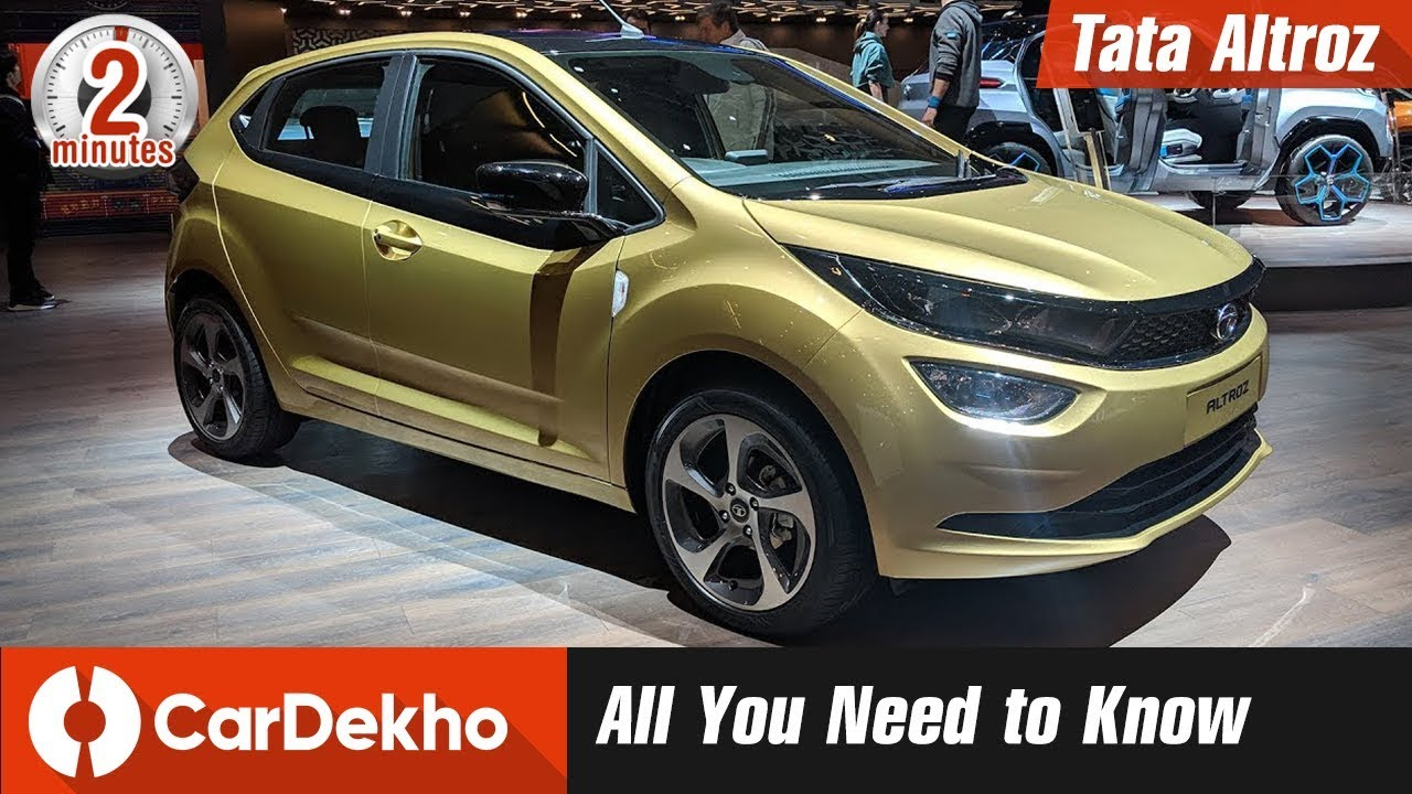 Tata Altroz Full Details | Price, Specs, Features and More! #In2Mins | CarDekho.com