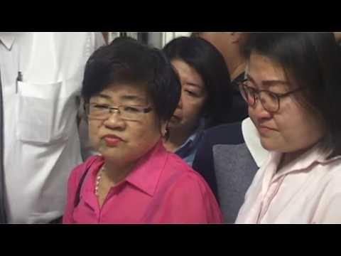 林秀琴清泪洒记者会 承认视频男子是父亲林吉祥