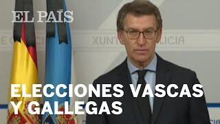 GALICIA y PAÍS VASCO convocan elecciones para el 12 de JULIO