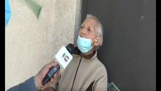 Anciana desalojada tuvo que buscar cobijo en un alojamiento
