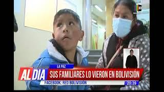 Se perdió, llegó a Bolivisión y la historia tuvo un final feliz