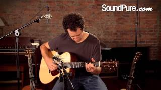 Bourgeois Signature OM Acoustic Guitar Demo at Sound Pure Studios
