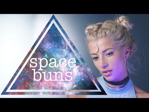 Braided Space Buns | Hair Tutorial