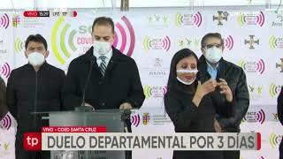 Decretan duelo departamental por la muerte del doctor Roberto Torrez