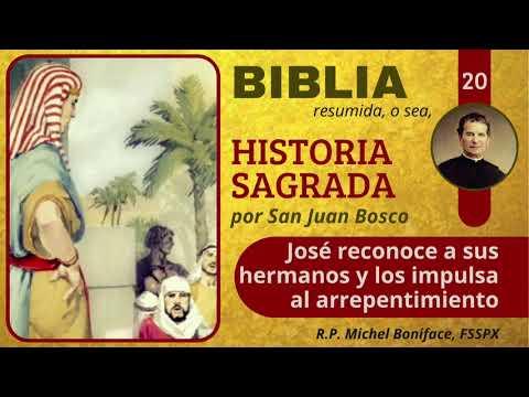 20 José reconoce a sus hermanos y los impulsa al arrepentimiento | Historia Sagrada