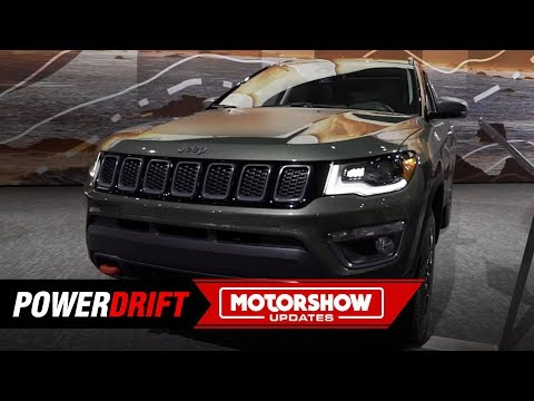 2019 Jeep Compass Trailhawk : Finally gets diesel automatic : 2018 LA Auto Show : PowerDrift