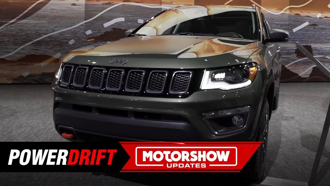 2019 Jeep Compass Trailhawk : Finally gets diesel automatic : 2018 LA Auto Show : PowerDrift
