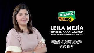 """Leila: """"Lo más ruin y bajo es tratar de aprovecharse de una situación crisis para obtener ganancias"""""""