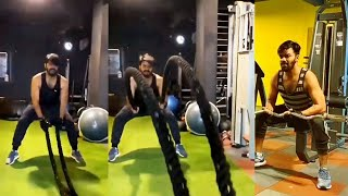 Sudigali Sudheer Heavy Gym Workout Video | Celebrities Workout Videos | TFPC - TFPC